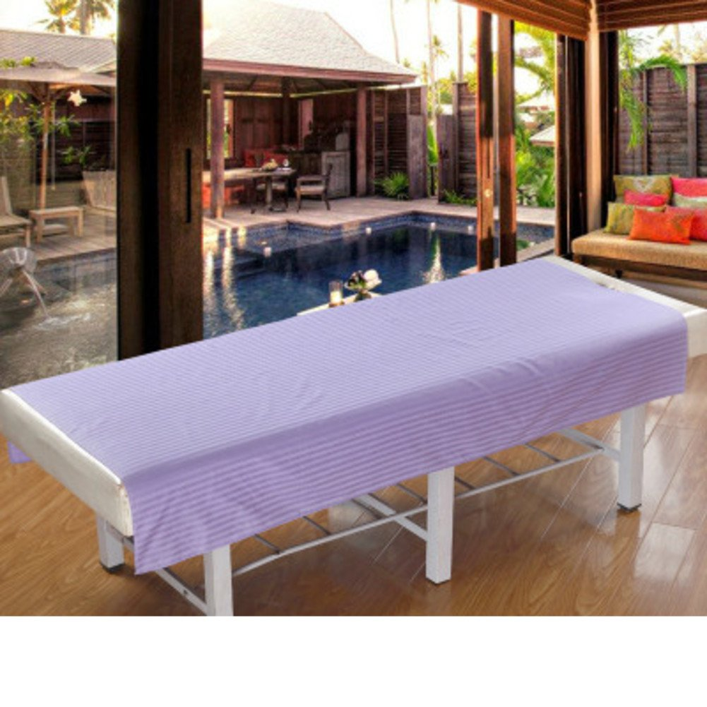 LWZY Linens Massage table sheet,waterproof sheets,spa linens,set of 2, cosmetic sheets/physiotherapy massage sheets/massage special sheets-D 200x100cm(79x39inch)