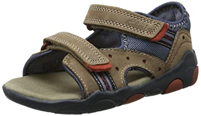 5c45e43a1719 Clarks Boys  Beach Dug Fst Athletic Sandals Brown Size  4  Amazon.co ...