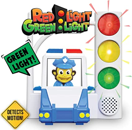 Family Fun Game for Kids Ages 3+ Red Light Green Light Interactive Motion Sensing