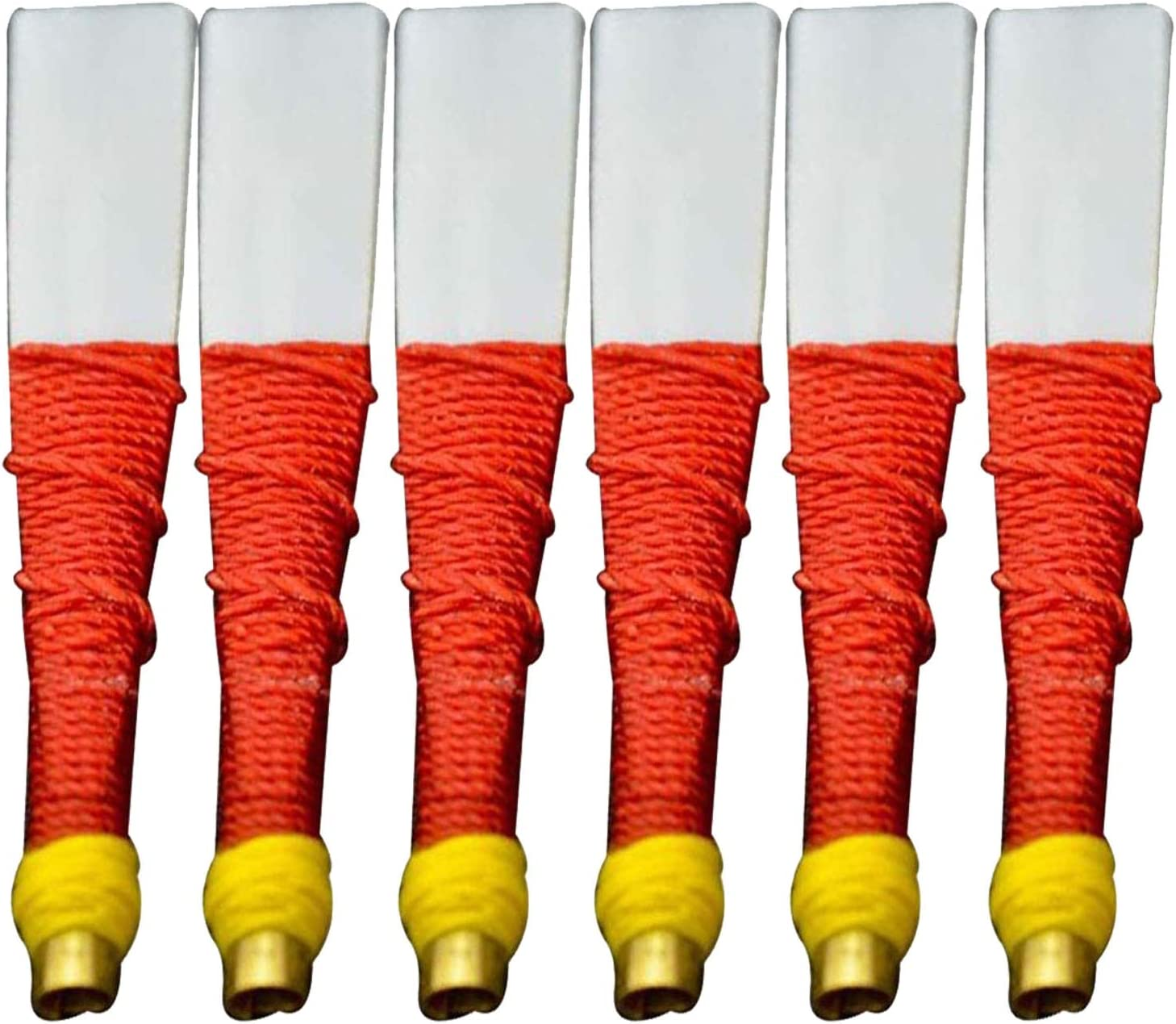 Brand New Bagpipes Pipe Chanter Plastic  Reeds  6 Pcs Red Color