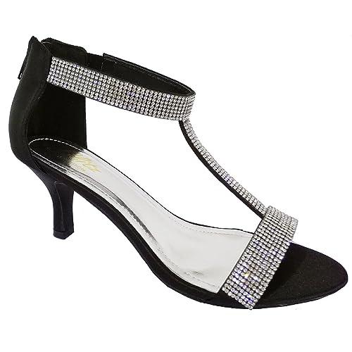 Ubershoes, Sandali donna, Nero (nero), 5 UK
