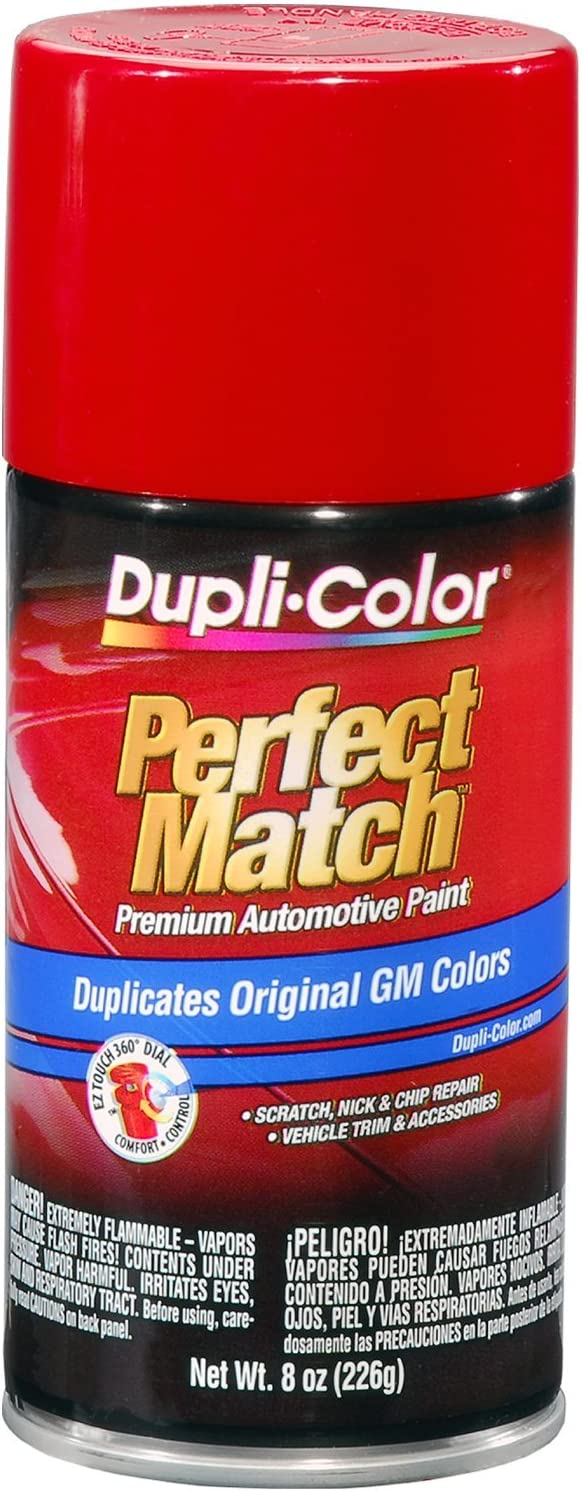 Dupli-Color BGM0398 Bright Red General Motors Exact-Match Automotive Paint - 8 oz. Aerosol
