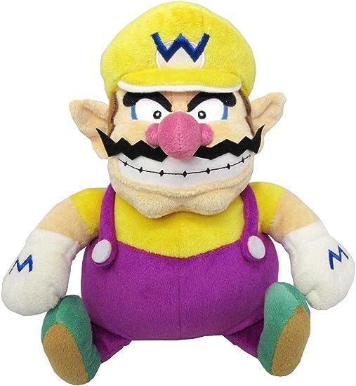 Amazon Com Sanei Super Mario All Star Collection 10 Wario Plush