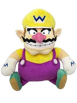 """Sanei Super Mario All Star Collection 10 """"Wario Peluche, pequeño"""