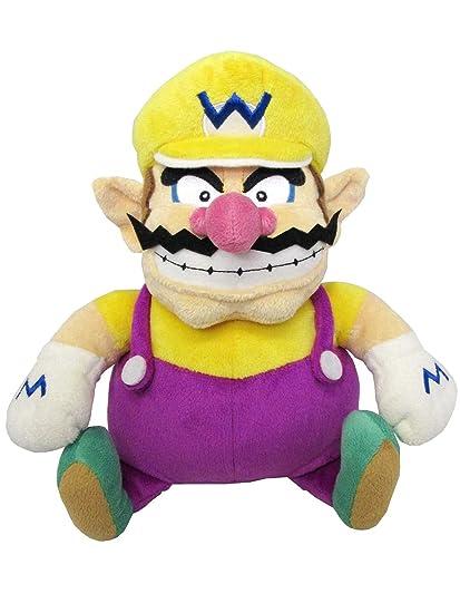 """Sanei Super Mario All Star Collection 10"""" Wario Plush, ..."""