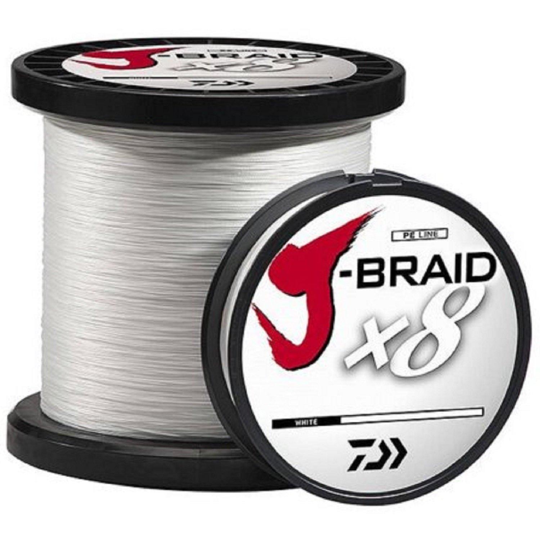 Daiw(ダイワ) J-Braid 150m 8本撚り ラウンドブレイドライン B01J6IG0TQ 150-3300|ホワイト ホワイト 150-3300