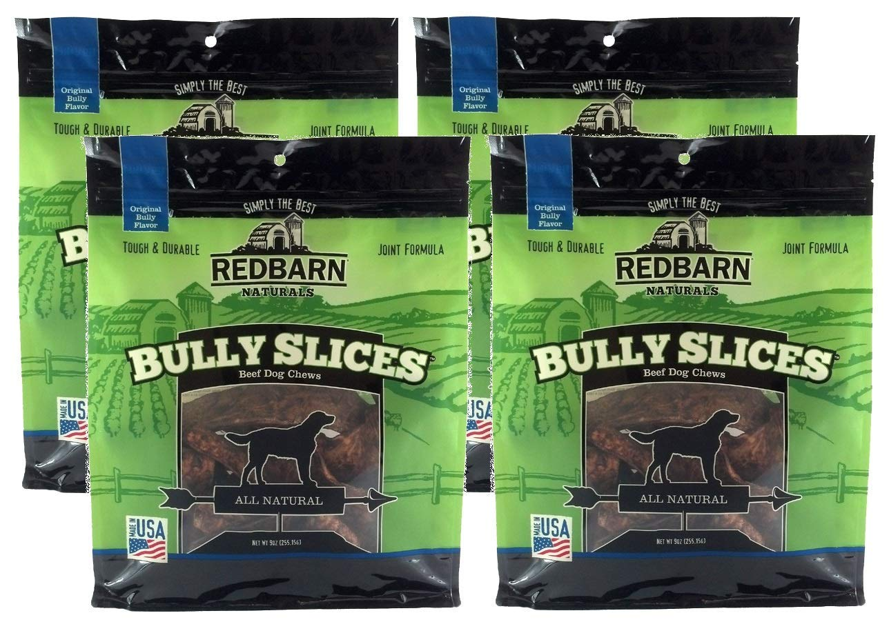 Redbarn Naturals Bully Slices, 9.0oz. (4-Pack)