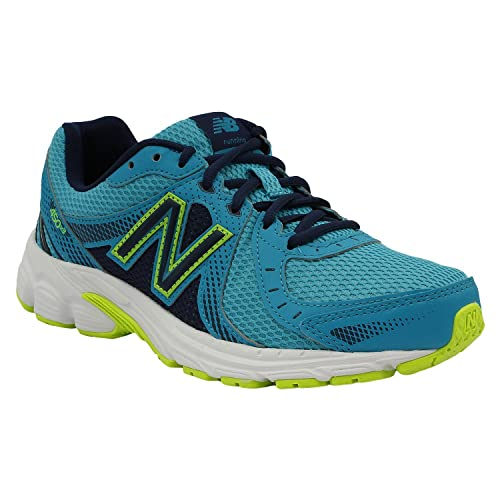 Green and Yellow Running Shoes