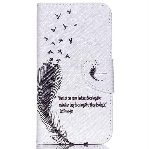 89 opinioni per Samsung J5 Portafoglio,Custodia in Pelle Protettiva Portafoglio Flip Case Cover