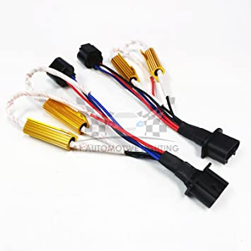 71vMPxSoIUL._SY355_PIbundle 2TopRight00_AA355SH20_ amazon com o nex hid led resistor kit h13 (9008) relay harness  at gsmx.co