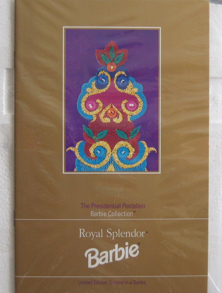 Royal Splendor PORCELAIN BARBIE Doll  SIGNED  Limited Limited Limited Edition 2nd Series (1993) 160055