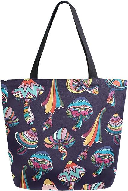 Unisex Travel Duffels Gym Bag Octopus Canvas Weekender Bag Shoulder Bag Totes bags