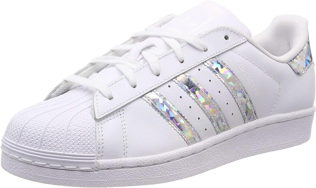 28e8f0de52 adidas Superstar J, Chaussures de Gymnastique mixte enfant - Blanc (Ftwr  White/Ftwr