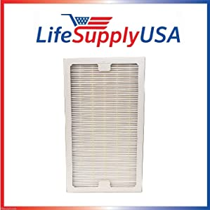 LifeSupplyUSA Replacement HEPA Compatible with Hunter 30966 Filter Air Purifier 30747, 30748, 30750, 30856, 37748, 37750