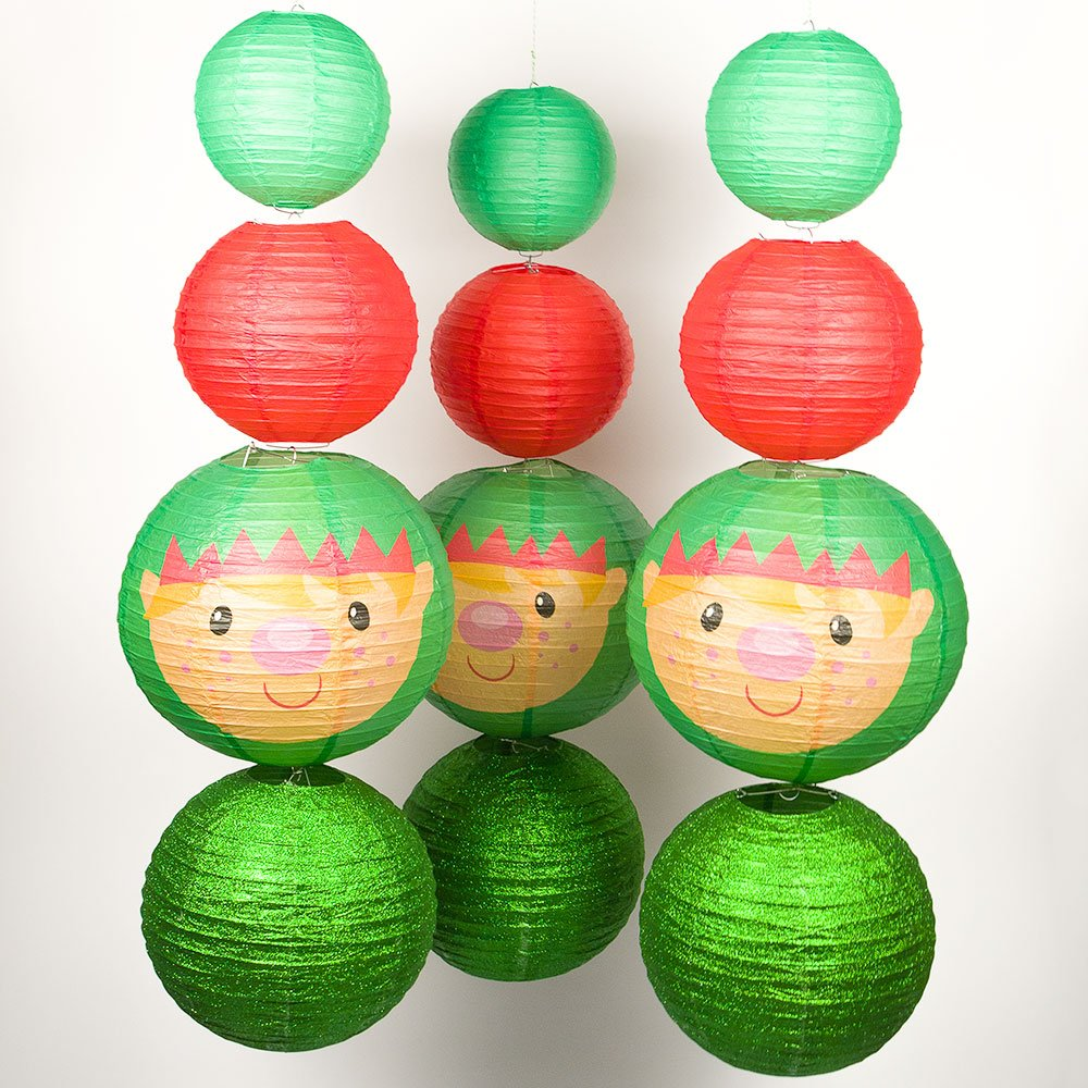 Quasimoon PaperLanternStore.com (5-Pack) Baseball Paper Lantern Asian Import Store Inc.