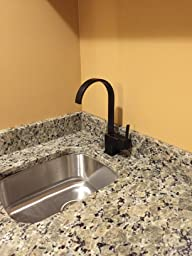 Yodel Modern Kitchen Wet Bar Sink Faucet Oil Rubbed