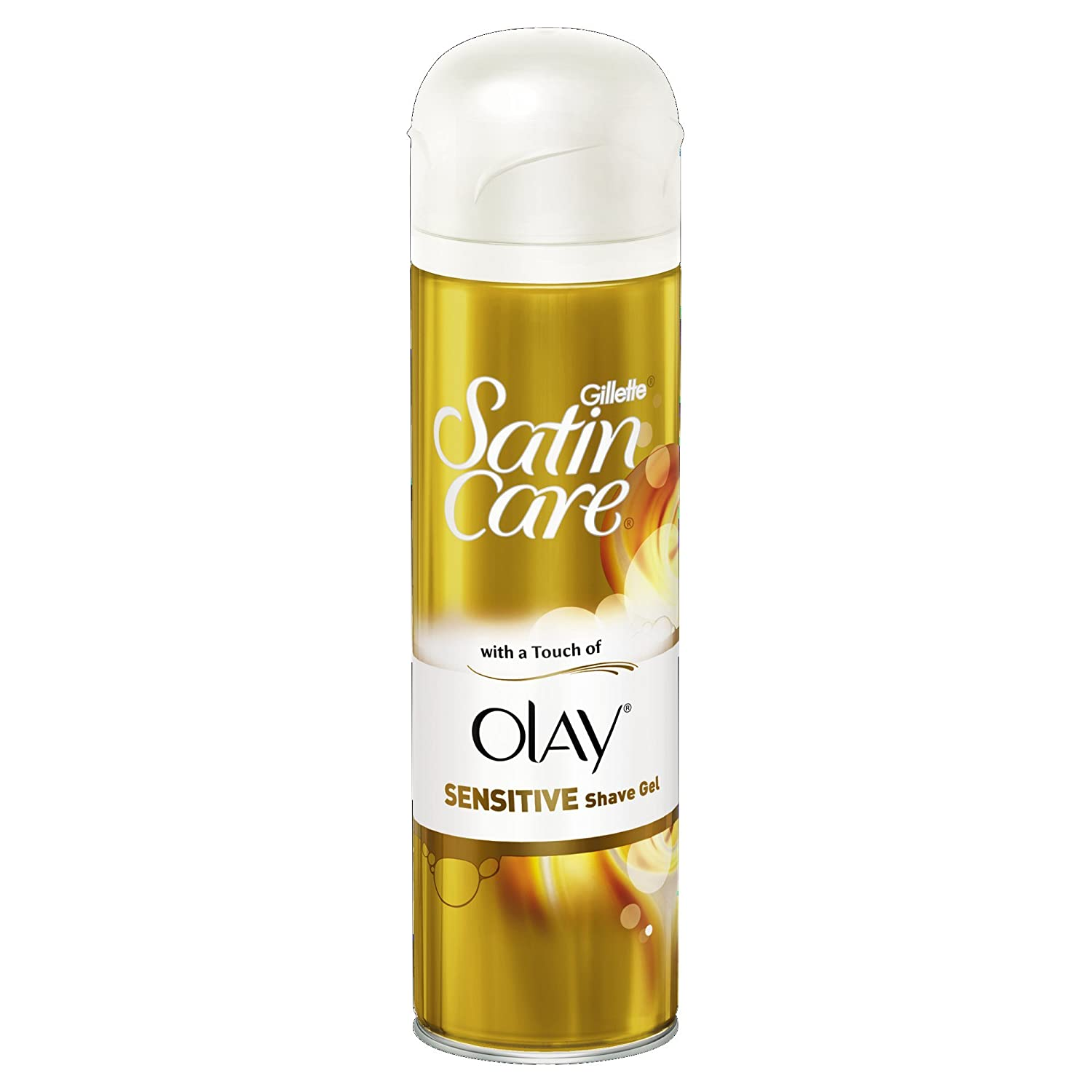 Gillette Satin Care Shave Gel with a Touch of Olay - 200 ml 80203665