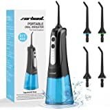 Water Flosser 2020 Upgraded, Cordless Water Flosser Teeth Cleaner with DIY Mode, Rechargeable Dental Oral Irrigator for…
