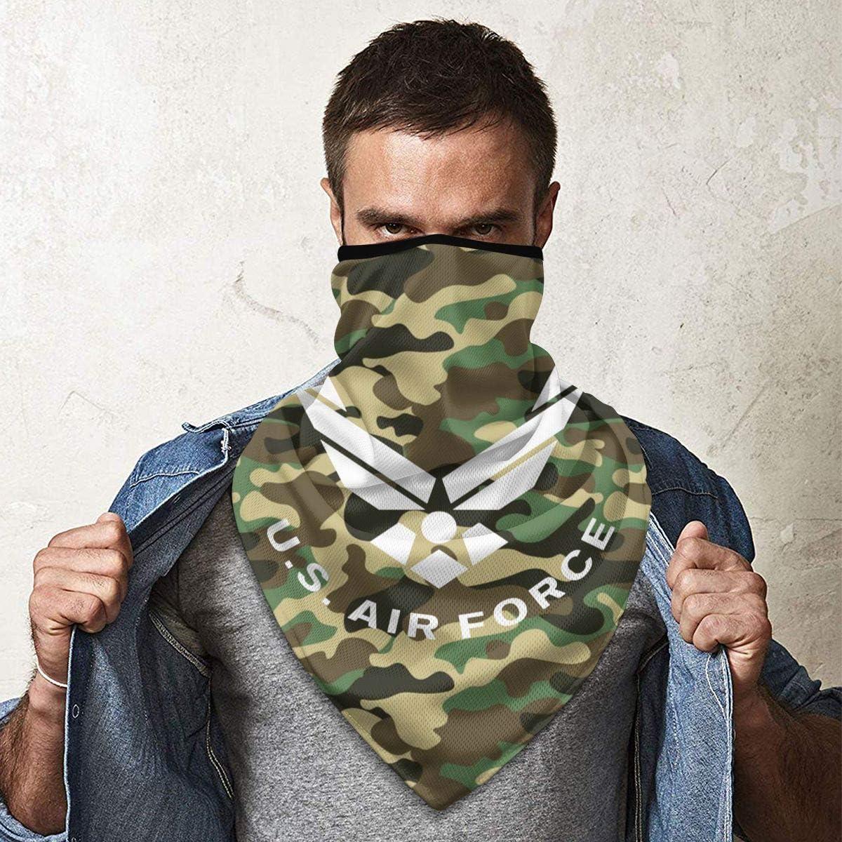 US Air Force USAF Outdoor Face Mouth Mask Windproof Sports Mask Ski Mask Shield Scarf Bandana Men Woman