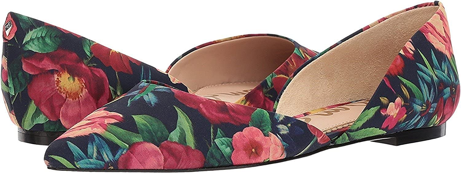 Navy Multi Vivid Bouquet Print Fabric Sam Edelman Women's