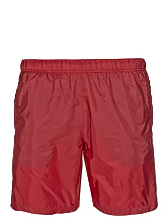 20c5e420afa51 Prada swimming trunk (M-08-Ba-34571) - 36(UK) / 46(IT) / 46(EU) - red:  Amazon.co.uk: Clothing