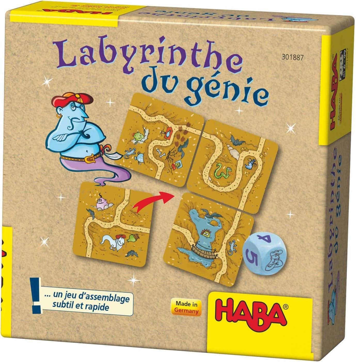 HABA – Laberinto del Genio, 301887: Amazon.es: Juguetes y juegos