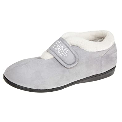 a1fbb01e0e5f SlumberzzZ Womens Ladies Slipper Ankle Boots  Amazon.co.uk  Shoes   Bags