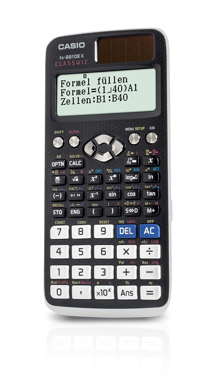 Casio FX 991DE X wissenschaftlicher ClassWiz Rechner mit