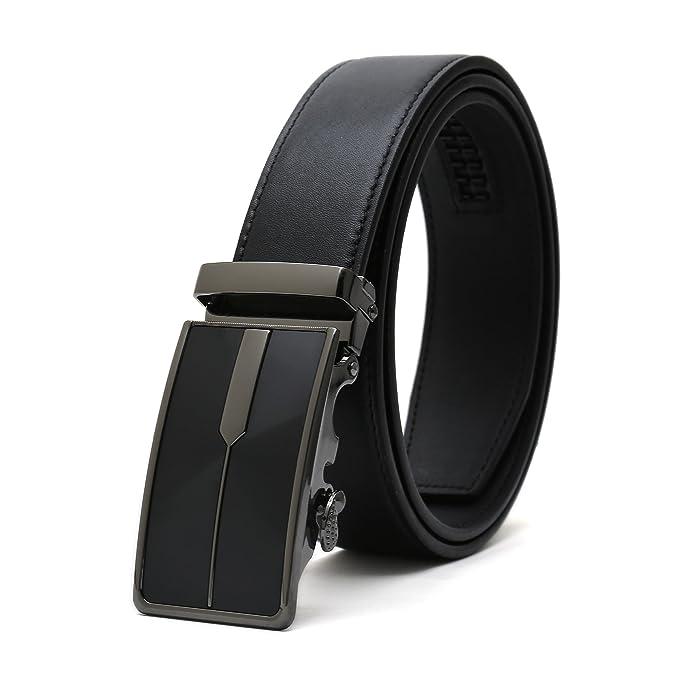 7e78b2e07 Weinida Hombres Negocio Vestimenta Casual Ropa Cinturón de Cuero Cinturones  35mm: Amazon.es: Ropa y accesorios