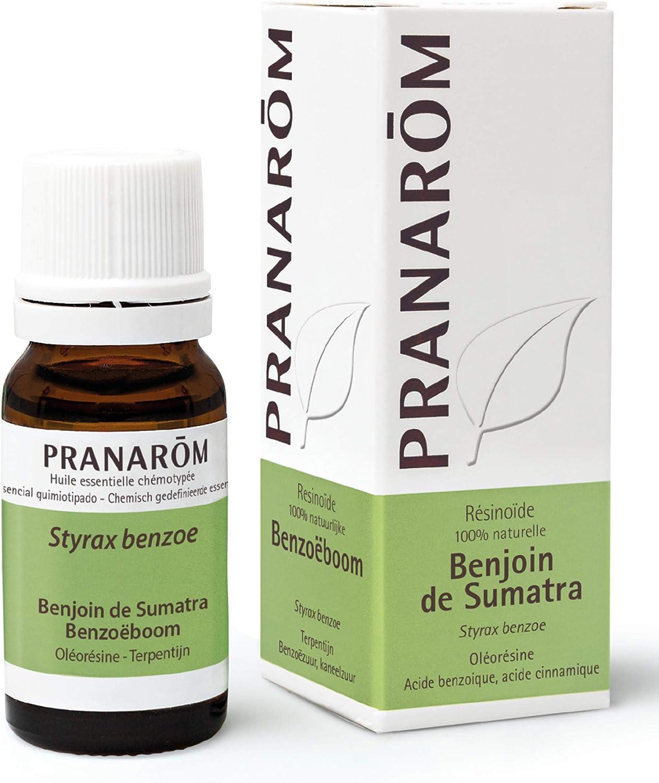Pranarom - Benjui de Sumatra 10 ml - Aceite Esencial Natural: Amazon.es: Salud y cuidado personal