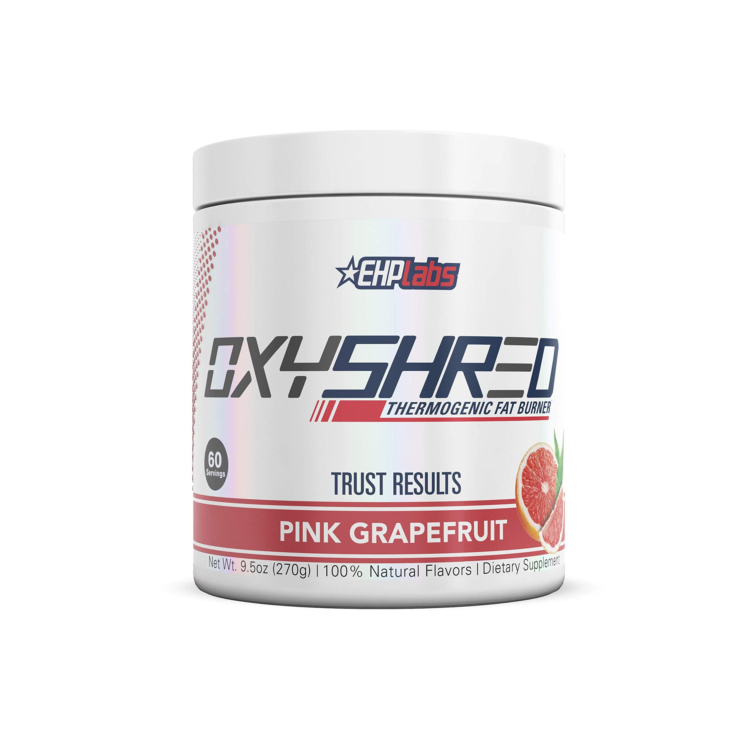 EHPlabs OxyShred Thermogenic Fat Burner Boost Metabolism, Low Stimulant, Destroy Stubborn Fat Cells (Pink Grapefruit) by EHP LABS