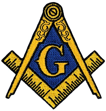 Amazon Masonic Logo Patch Embroidered Iron On Freemason Lodge