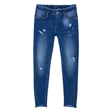 Tiffosi Damen Jeanshose Blau blau