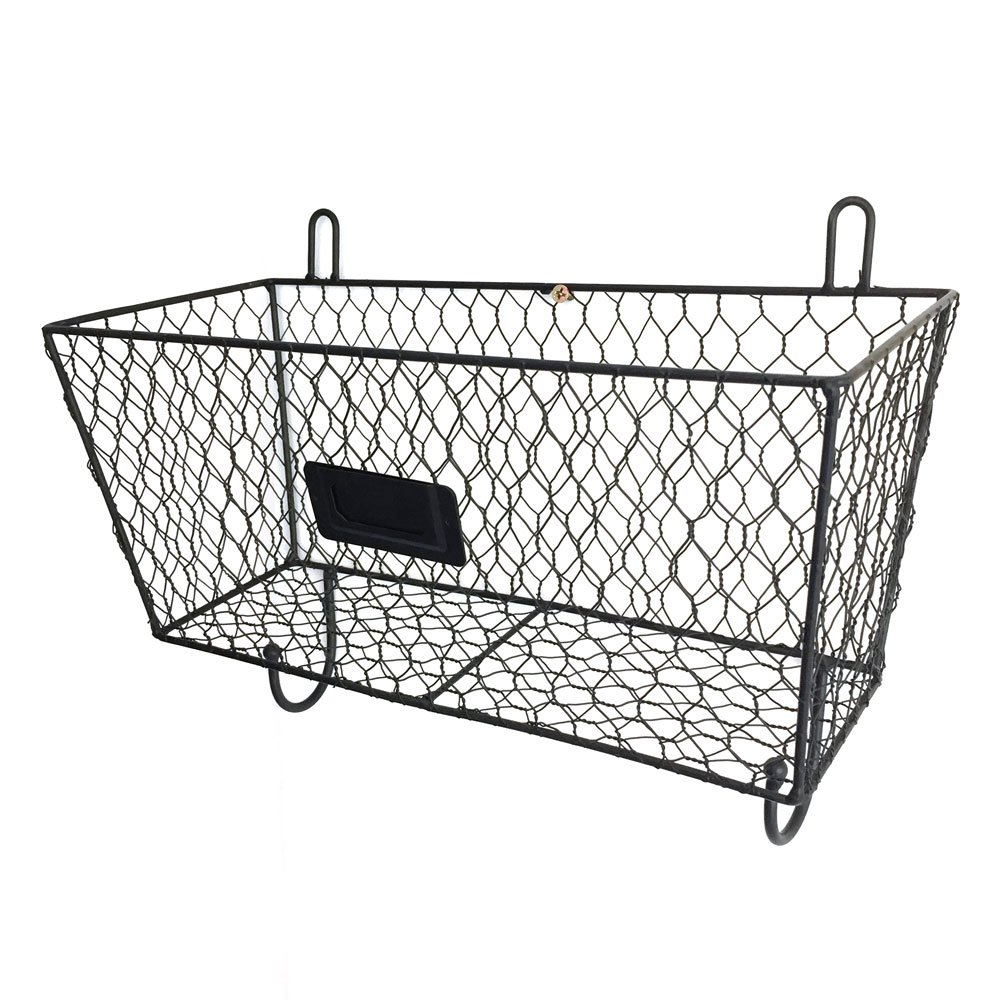HOBBYN Metal Rack Basket,3 Tier Wire Frame Wall Mountable Metal Kitchen Spice Rack, Countertop Storage Shelves by HOBBYN
