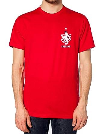 e4d9875d7 Retro England Football T Shirt Top World Cup 2018 Fan Men Women Kid  Supporter L254e