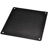 DGQ Ultra Fine Fan Filter 140mm PVC Black Computer Fan Grills PC Cooler Fan Dustproof Case Cover Computer Mesh - Pack of 10
