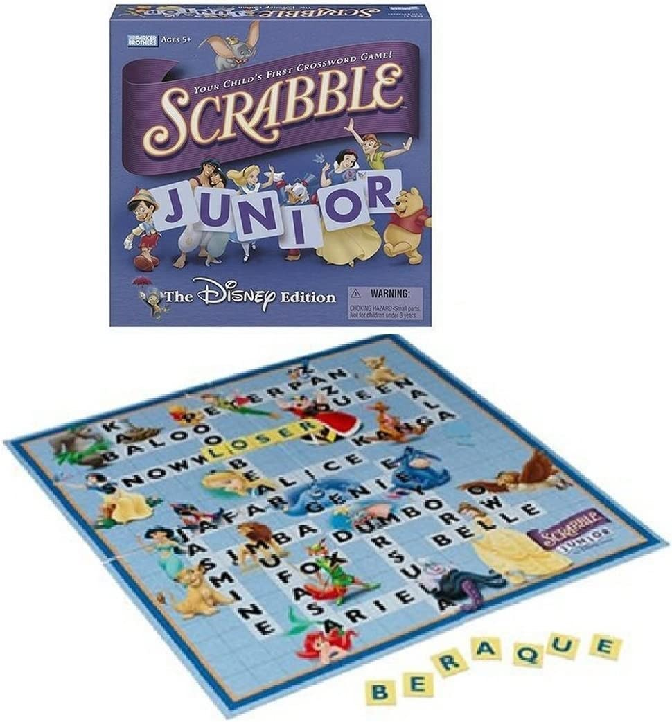 Scrabble Junior - The Disney Edition (2004): Amazon.es: Juguetes y juegos