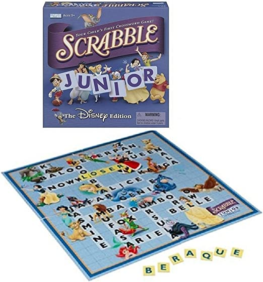 Scrabble Junior - The Disney Edition (2004): Amazon.es: Juguetes y juegos