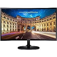 "Samsung C27F390F, 27"" LED Curved Monitor, 1920x1080, Black"