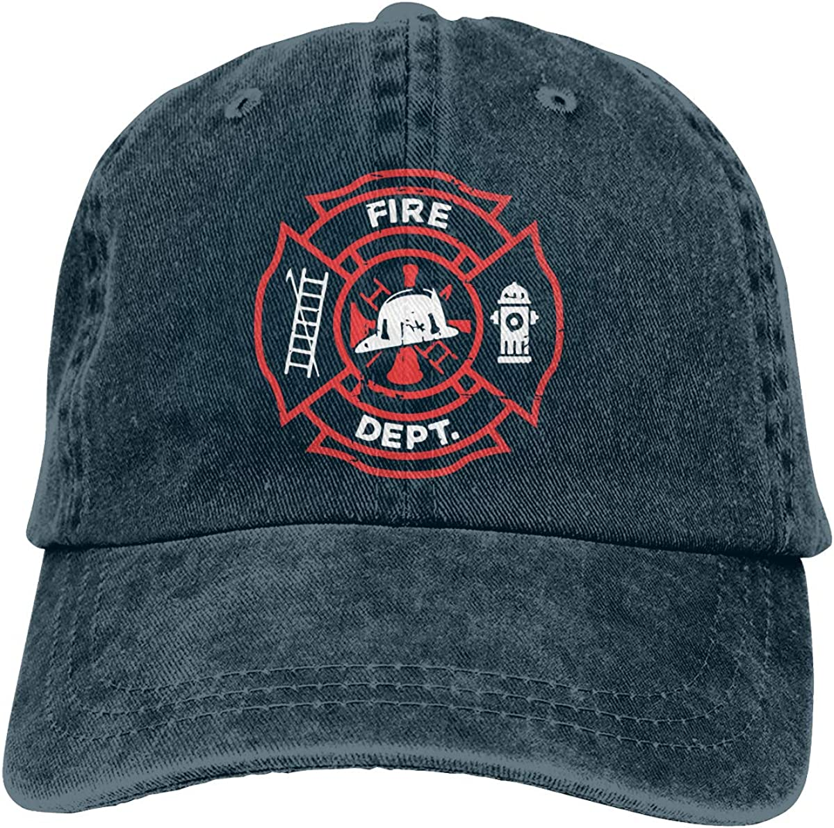 Distressed Firefighter Boy Classic Hip Hop Baseball Cap 100/% Cotton Unisex Soft Adjustable Size