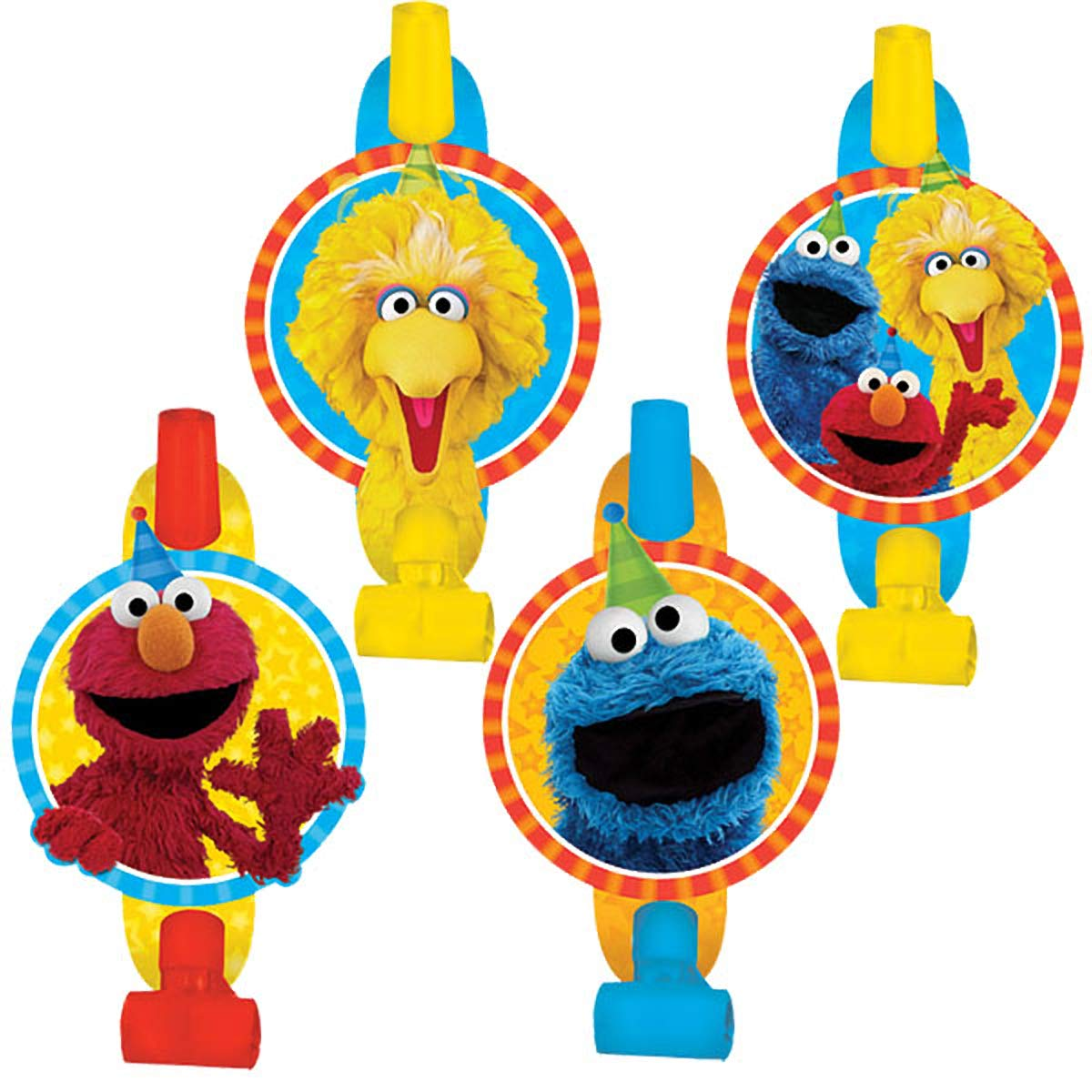 Blowouts   Sesame Street® Collection   Party Accessory   48 Ct.