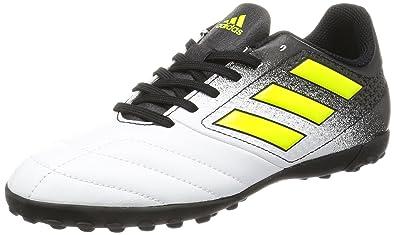 super popular 025a9 120ee adidas Ace 17.4 Tf J, Scarpe da Calcio Unisex – Bambini, Bianco (Footwear