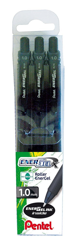 Blu Pentel BL110 Roller Gel Energel X 1.0