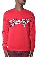 Mitchell Ness Chicago Script Crew Plus Size Sweater XXL