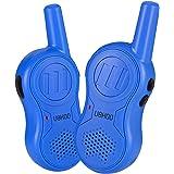Walkie Talkies for Kids, 3 Channels Two Way Radio 2 Miles Range Handheld Mini Walkie Talkies, Toys for 4 5 6 7 8 9 10 Year Old Boys and Girls