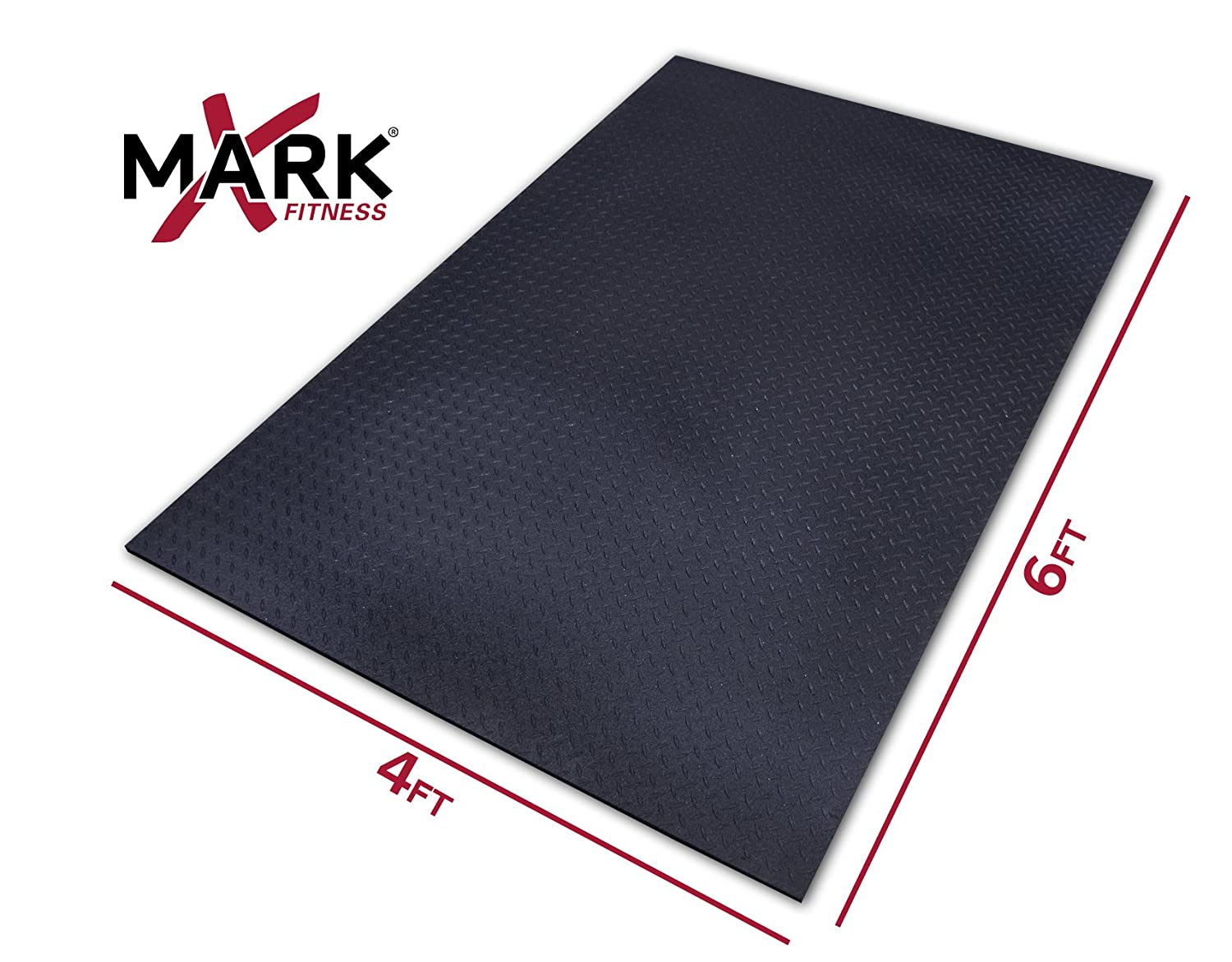 Rubber floor mats workout - Amazon Com Xmark Fitness Xmat Ultra Thick Equipment Mat Exercise Protective Flooring Sports Outdoors