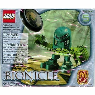 Kongu 1392 - Lego McDonalds 2002 Euro Bionicle Tohunga Matoran by Legos Bionicle: Toys & Games