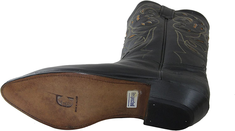 El Charro Vintage Women Leather Boots 1253 Black (39, Black ...