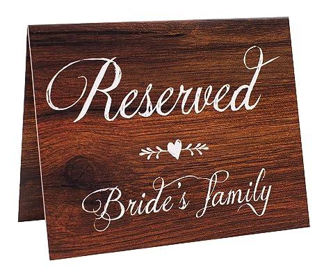 Amazon.com: 2 carteles de mesa de boda con diseño de geese ...