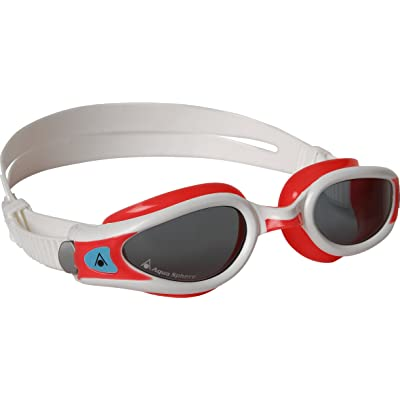 Aqua Sphere Women's Kaiman Exo Swim Goggles - Red/White, Small by Aqua Sphere